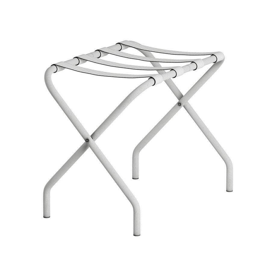 folding luggage rack 3d model 10