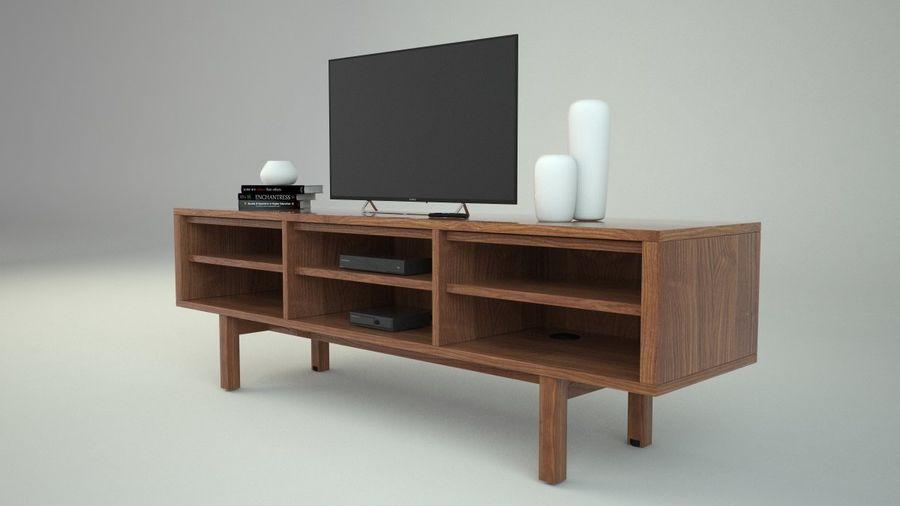 meuble tv ikea stockholm modele 3d 20