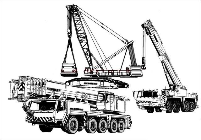 Liebherr Crane Manual de serviço, Manual de manutenção