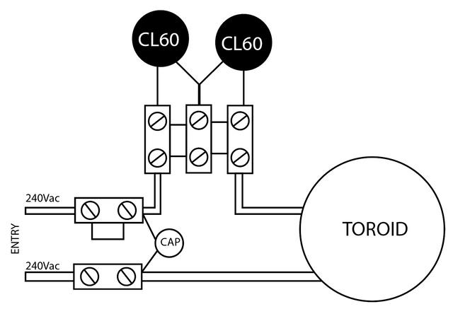 diyAudio Power Supply Circuit Board v3 illustrated build