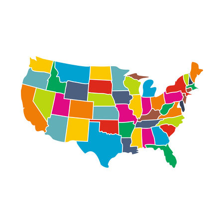 The map legend is sometimes called the map key. Usa Map Flag Icon Black Simple Style Image Stock By Pixlr