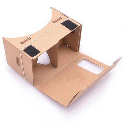 جوجل كارد بورد نظارة العالم الافتراضى بتصميم يوضع على الرأس