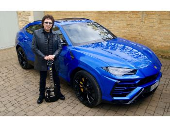 The link between Black Sabbath and Automobili Lamborghini: Rock legend Tony Iommi shares his passion for super sports cars from Sant'Agata Bolognese