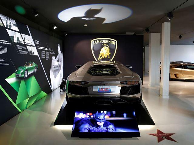 Lamborghini Aventador - The Dark Night Rises