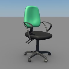 Ergonomic Chair Bd Braxton Culler Chairs 3d Model
