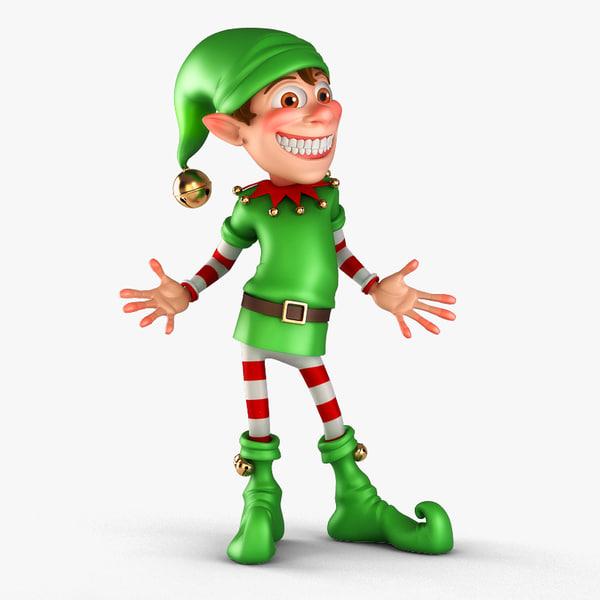 3d Elf Models Max 3ds Obj Fbx Ma