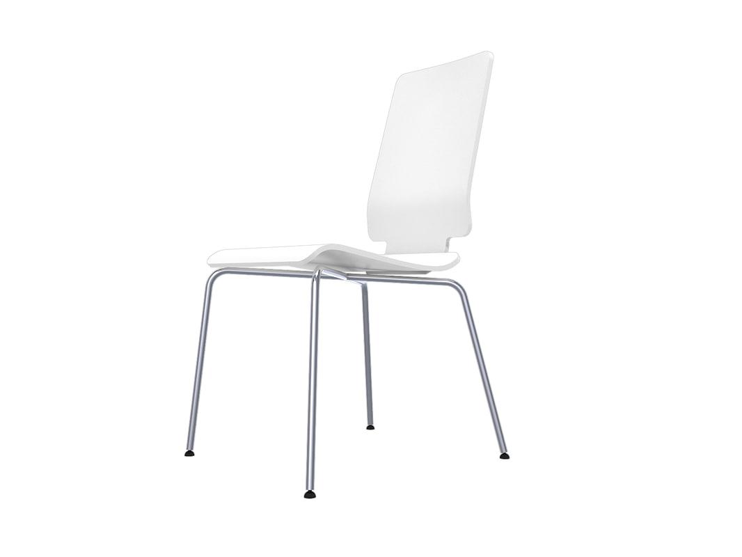 gilbert chair ikea bedroom retro 3d model