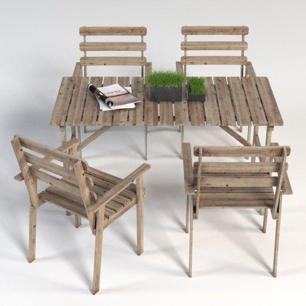 3d Ikea Tableset Model
