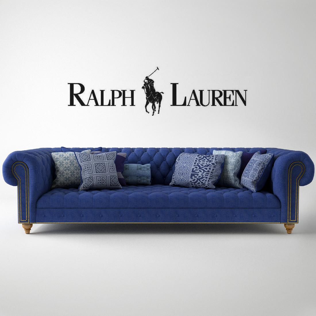 ralph lauren home chesterfield sofa cream corner chaise 3d max gtr 35 prototyping