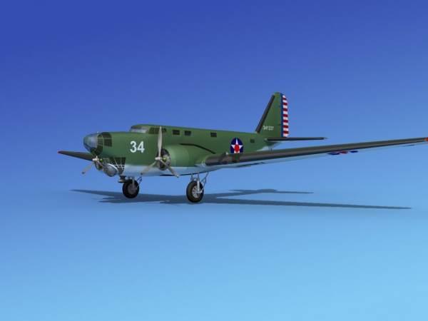 3d Model Douglas 18 Bolo Bomber