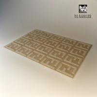 3d fendi carpet