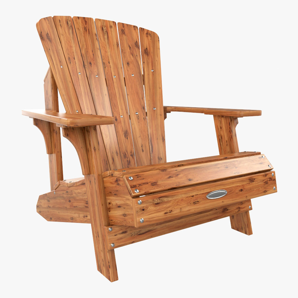 Lifetime Adirondack Chair Lifetime Faux Wood Adirondack Chair 3d Model Inspirational