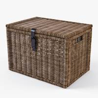 wicker rattan chest ikea 3d max