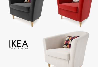 Tullsta Chair Ikea The Included Cushion Can Be Used For