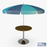 Outdoor Cafe Tables Umbrella