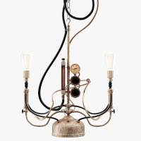 max steampunk pendant light