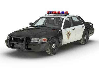 Crown Victoria Police Car Success