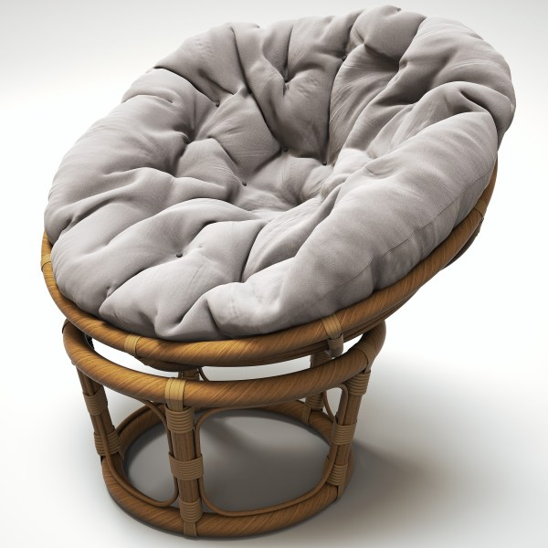 Obj Rattan Chair Papasan