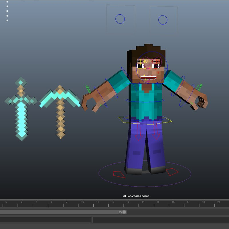 C4d Character Template