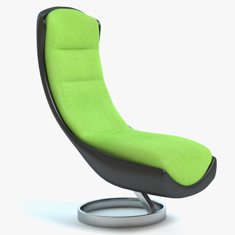 3d cool lounge chair model