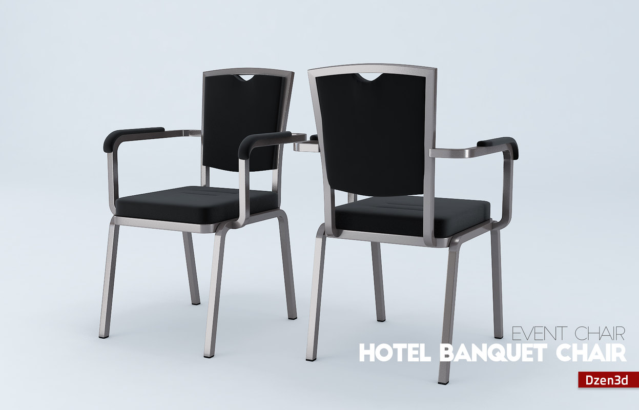 standard banquet chairs chair covers hire adelaide 3d hotel model