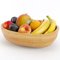 ethnic fruit bowl 3d max