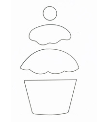 Make a cupcake birthday card :: Handmade cards