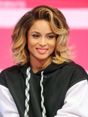 ciara lob hairstyle - long bob