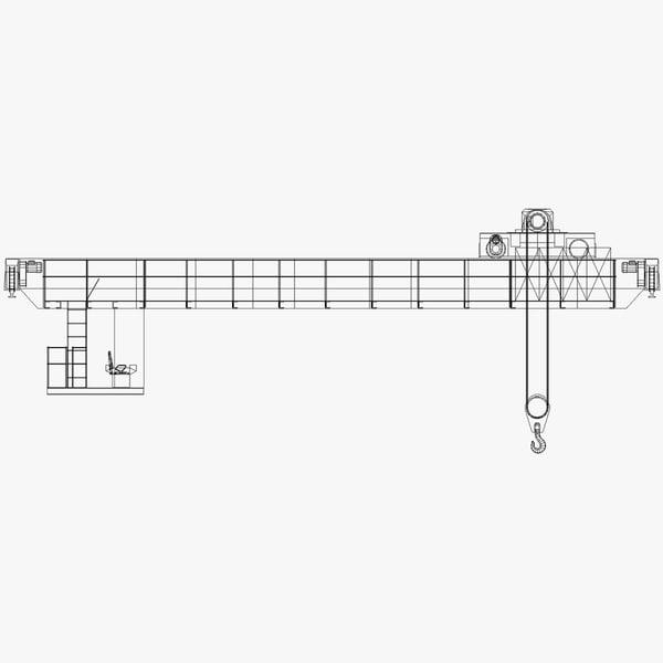 3ds max overhead crane hook