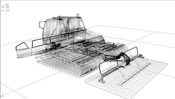 3d model prinoth everest