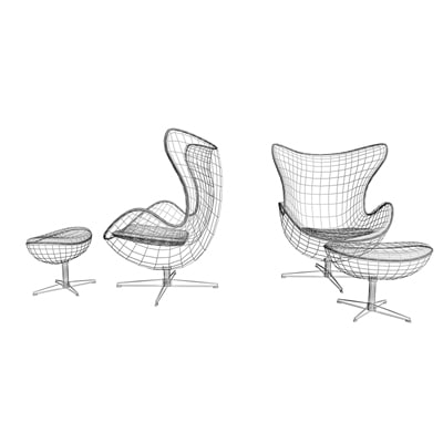 Egg Chair Blueprints