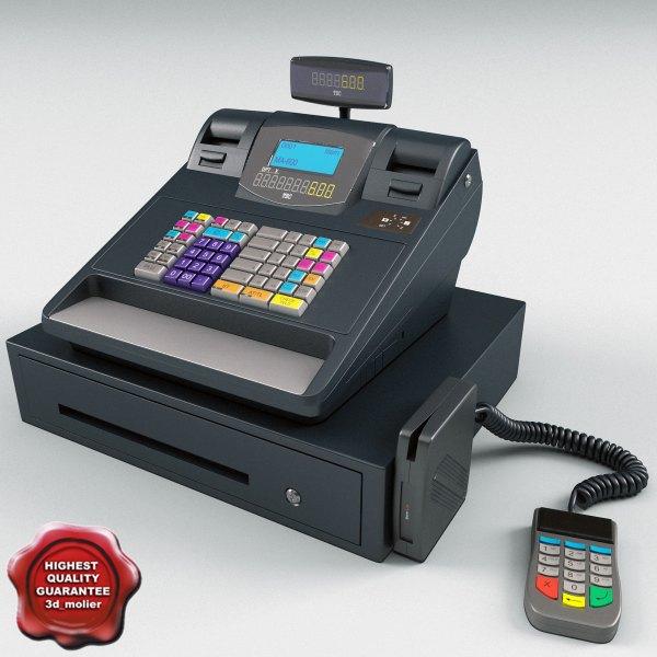 Retail Computer Cash Register