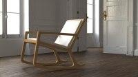 rocker chair 3d model