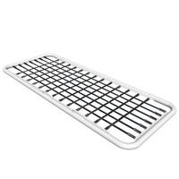 barriers steel hedgehog 3d max