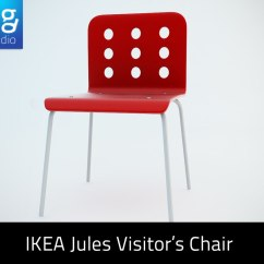 Ikea Jules Chair Bar Height Table And Chairs 3d Model Of Visitor S