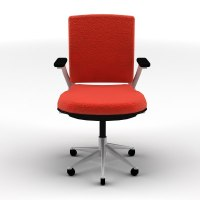 Spinny Chair for Classroom Red