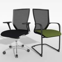 chair sidiz stl 3d model