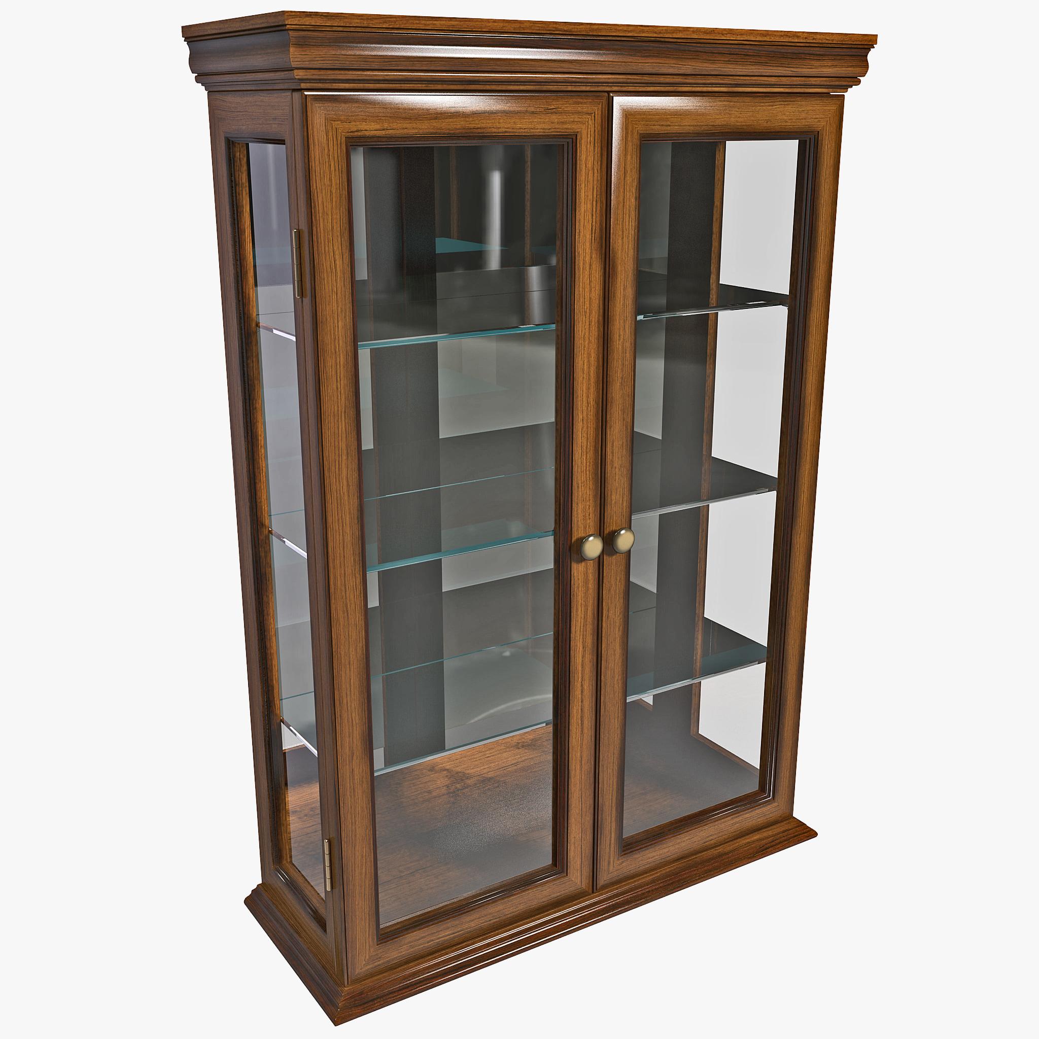max toscano wall curio cabinet