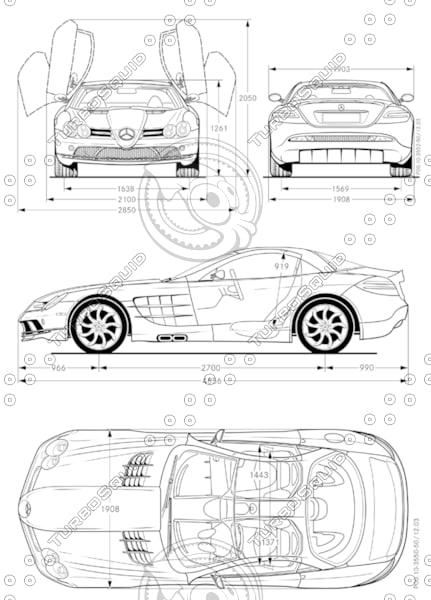 Stock jpg SLR McLaren Mercedes