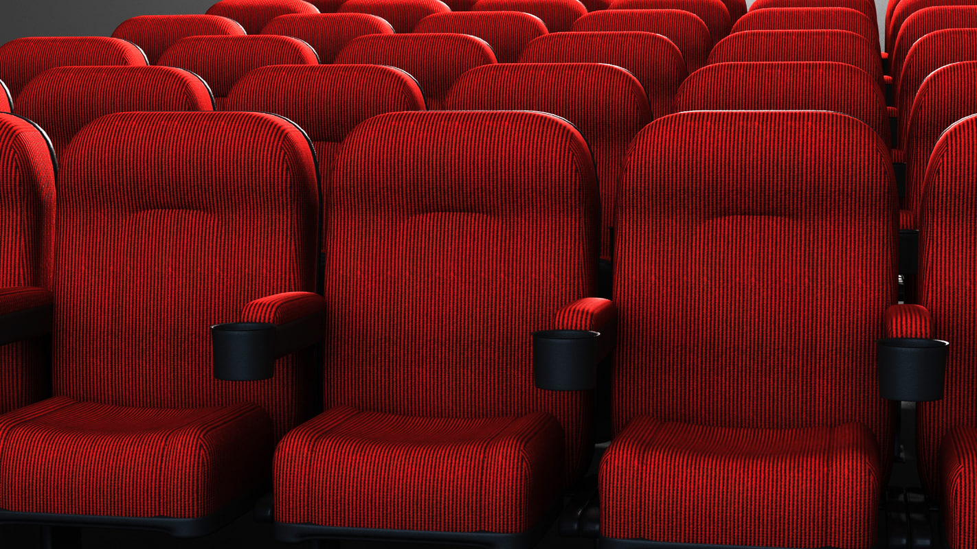 Movie Theater Chairs 3d Model Of Movie Theater Chair