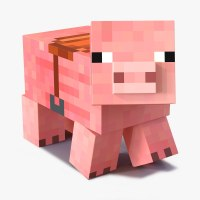 Minecraft Pig | www.imgkid.com - The Image Kid Has It!