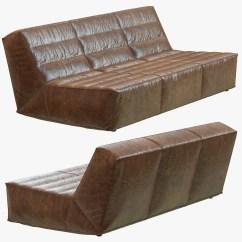 Chelsea Leather Sofa Black Bed Gumtree Restoration Hardware 3d Max