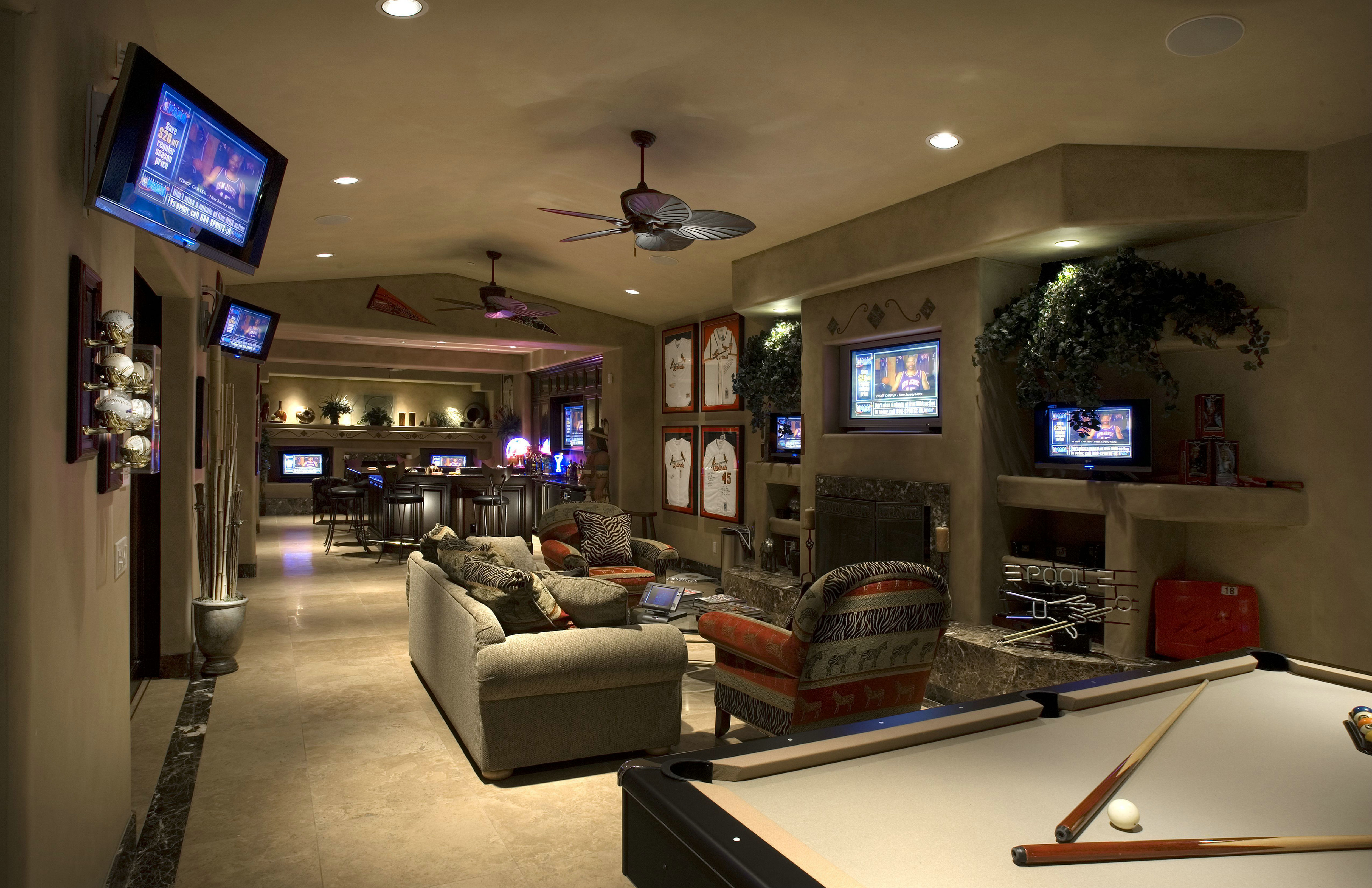 It's computerized to eliminate hu. Luxury Games Rooms in Homes For Sale in and Around Chicago ...