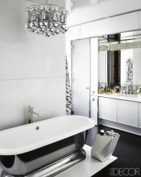 Top 10 Black and White Bathroom Ideas - Preview Chicago ...