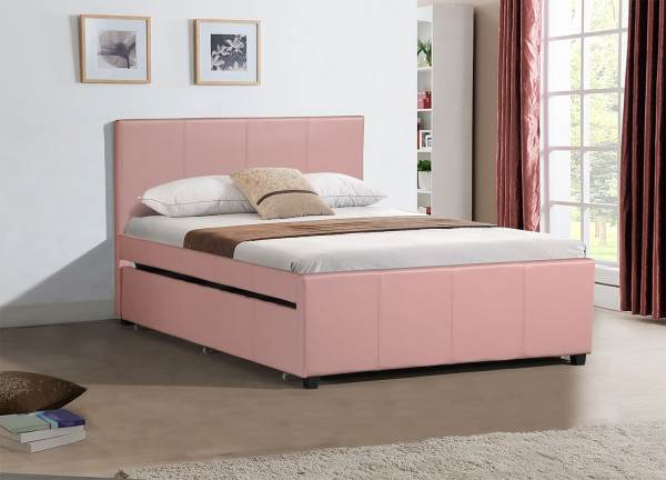Finley Full Trundle Bed Pink Furniture.ca
