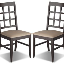 Faux Leather Dining Chairs S Bent And Brothers Rocking Chair 1867 Breda With Seat Set Of 2  Grey