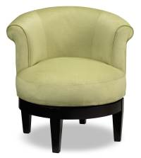 Lemoore Accent Swivel Chair - Lime | Furniture.ca