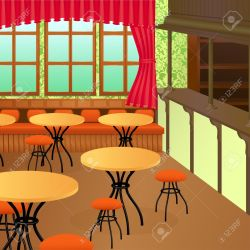 Bistro Interior Royalty Free Cliparts Vectors And Stock Illustration Image 12119977