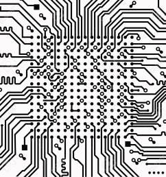 high tech electronic circuit board vector background stock vector 99199245 [ 1300 x 1299 Pixel ]