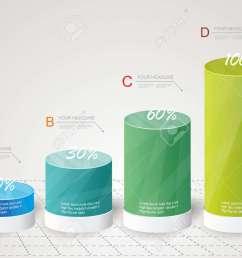 archivio fotografico box design moderno stile minimal template infografica pu essere utilizzato per diagramma numerati banner colonne per cento  [ 1300 x 929 Pixel ]